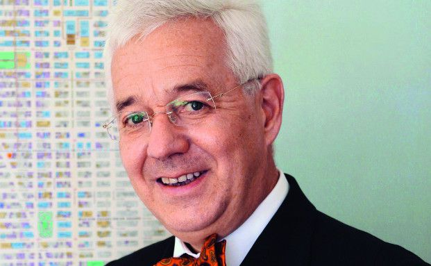 Der gebürtige Kölner Christoph Kahl (Jahrgang 1954) führt den US-Immobilien-Initiator Jamestown seit 31 Jahren.