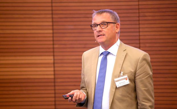 Berater Rolf Kauke auf den MLP Financial Planning Powertagen. Foto: Thomas Mächtel, MLP