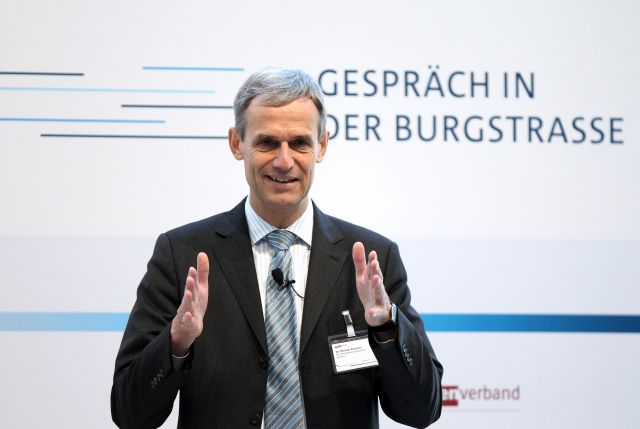 Michael Kemmer, Bundesverband deutscher Banken, Foto: Boris Streubel, action press