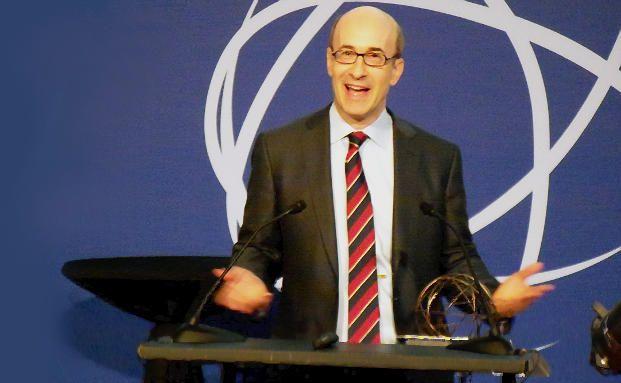 Kenneth Rogoff bei der Verleihung des Deutsche Bank Prize in Financial Economics im Jahr 2011 (Foto: DAS INVESTMENT.com)