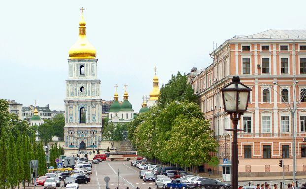 Kiew, die Hauptstadt von der Ukraine; <br> Quelle: Pixelio