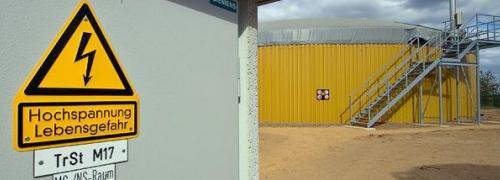 Bioenergie-Park Klarsee in Penkun, <br> Mecklenburg-Vorpommern Quelle: Nawaro