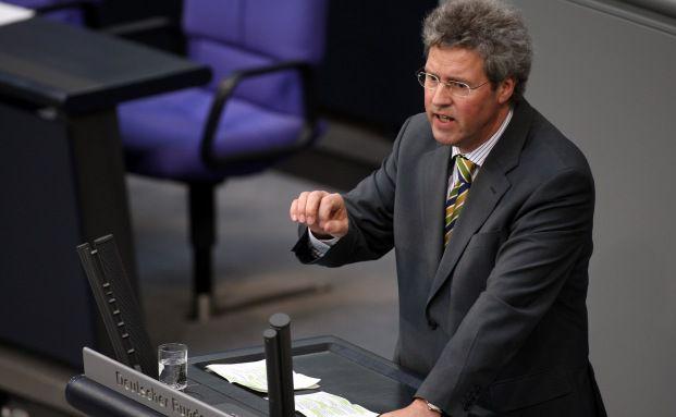 Klaus-Peter Flosbach, finanzpolitischer Sprecher der<br>Unionsfraktion