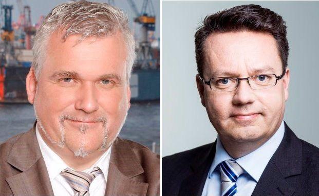 Verbraucherschützer Axel Kleinlein (links) und GDV-Mann Peter Schwark liefern sich ein Pro & Contra zum Thema private Berufsunfähigkeitsabsicherung. Foto: © Bund der Versicherten / GDV