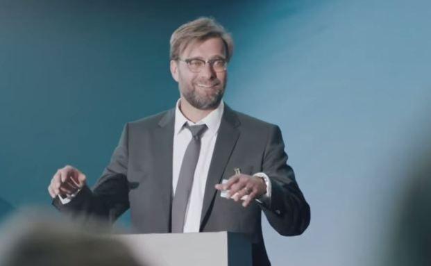 Screenshot: Ex-BVB-Trainer und neuer DVAG-Coach Jürgen Klopp.