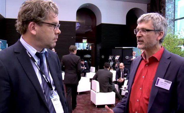 Chefredakteur DAS INVESTMENT Malte Dreher mit Jochen Knoesel, Vermögensverwaltung bei Knoesel & Ronge