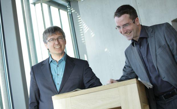 Jochen Knoesel (links) und Ulrich Ronge haben sich im Studium kennengelernt. 1999 haben sie die Vermögensverwaltung Knoesel & Ronge gegründet