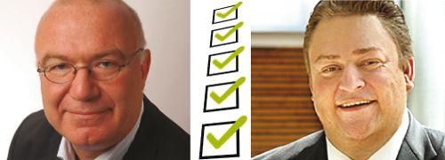 Peter K&ouml;nig, DVFA (links) und <br> Dieter Rauch, VDH GmbH