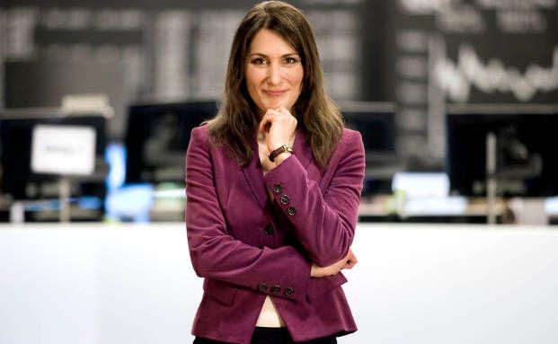 Finanzjournalistin Anja Kohl berichtet regelmäßig in der ARD vom Börsenparkett (Foto: Rüdiger Jürgensen)