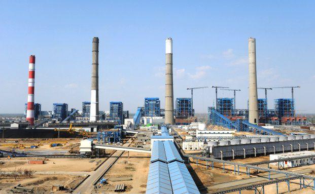 Kraftwerk in Mundra, Indien. DB X-Trackers bietet jetzt<br> auch Indexfonds auf Versorgeraktien aus den<br>Schwellenländern (Foto: Getty Images)