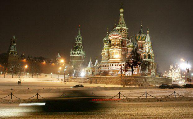 Der Moskauer Kreml. Seit jeher Machtsymbol Russlands. Foto: Getty Images