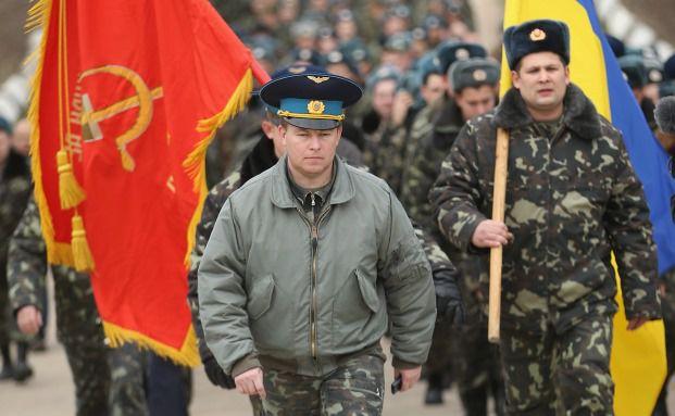 Die Krise auf der Krim spitzt sich zu. Die angedrohten Sanktionen der USA und der EU gegen Russland könnten auch Auswirkungen auf den britischen Finanzmarkt haben. Foto: Getty Images