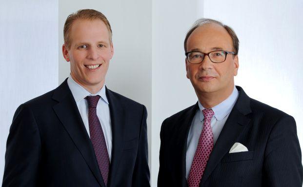 Carsten Kröhl und Wilhelm-Christian Helkenberg von der Personalberatung Heads. Foto: Susanne Hesping Photo