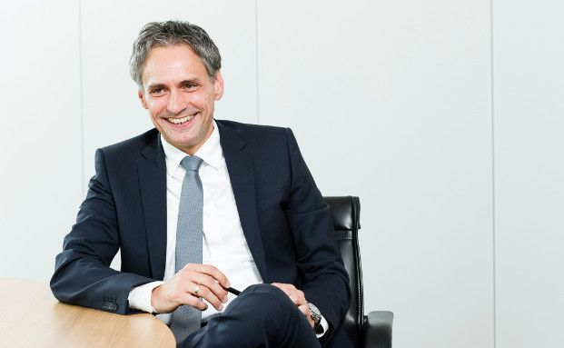 Frank Lamsfuß, Vertriebsvorstand der Barmenia Versicherungen (Foto: Daniel Schmitt)
