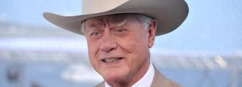Larry Hagman alias J.R. Ewing<br>Quelle: Getty