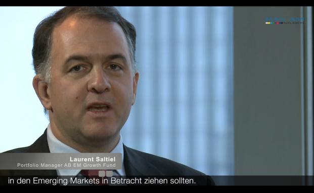 Laurent Saltiel, Manager des AB Emerging Market Growth Fonds