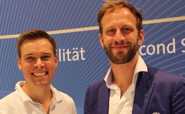 Andreas Leckelt und Nick Sohnemann (Foto: Laransa)