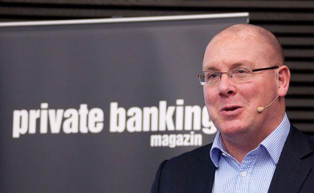 Nick Leeson auf dem private banking kongress 2013 in München. Foto: Ch. Scholtysik / P. Hipp
