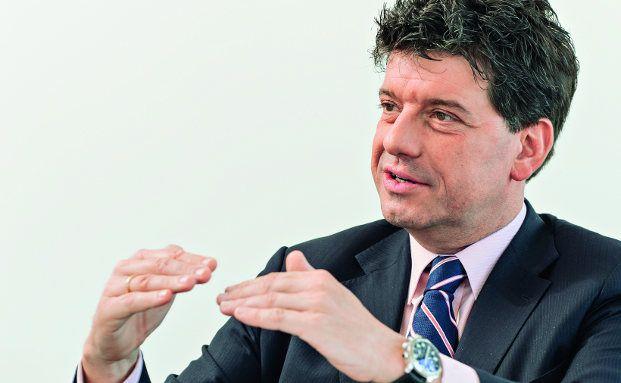 Alexander Lehmann ist seit 2005 Mitglied der Geschäftsführung der US-Fondsgesellschaft Invesco. Von Frankfurt aus leitet er den Wholesale-Vertrieb für Deutschland und Österreich. Foto: Uwe Nölke