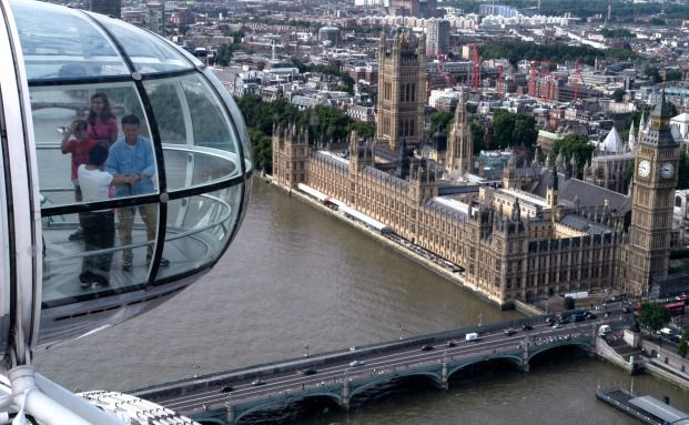 Ausgefallene Infrastruktur mit Ausblick: Riesenrad London Eye (Foto: Getty Images)