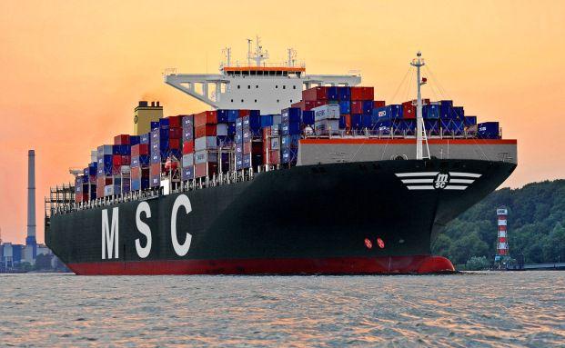 Gigantomanie: Der Trend geht zu immer gr&ouml;&szlig;eren <br> Containerschiffen