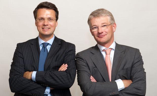 Eingespieltes Team: Verm&ouml;gensverwalter Martin Mack (links) <br> und Herwig Weise