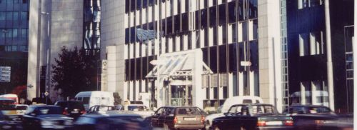 Allianz GI Gebäude in Frankfurt