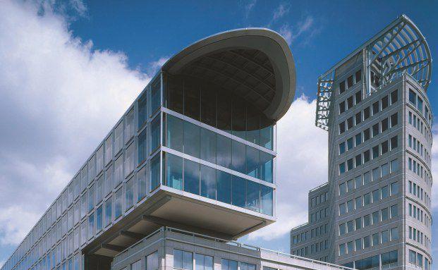 Hauptsitz der Mannheimer Versicherungen in Mannheim.