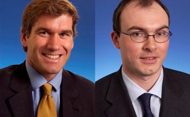 Manu Vandenbulck (links) und Nicolas Simar