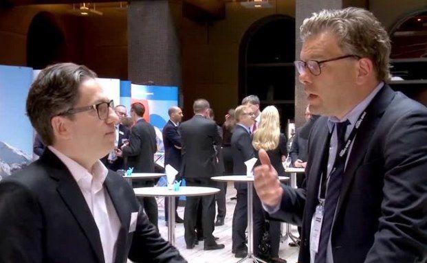 Spiros Margaris, Fintech-Experte & Gründer von Margaris Advisory (links) mit Malte Dreher, Chefredakteur DAS INVESTMENT
