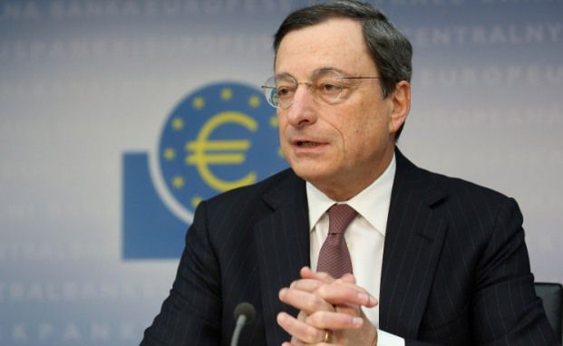 Mario Draghi, Chef der europäischen Zentralbank