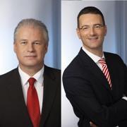 Rolf-Dieter Marson (links) geht.<br>An seine Stelle tritt Achim Adams.