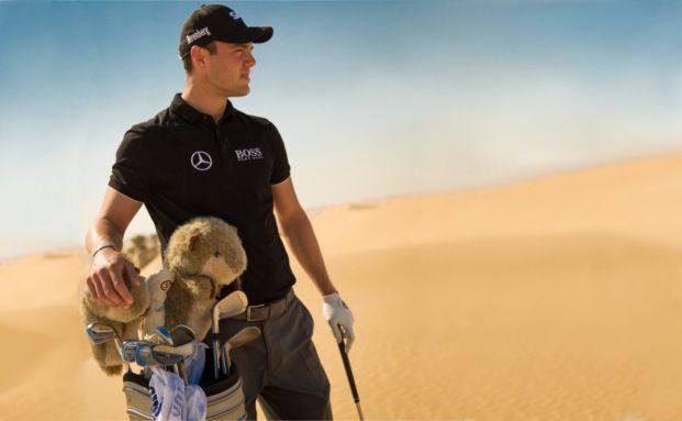 Golfprofi Martin Kaymer ist neuer Markenbotschafter von Berenberg.
