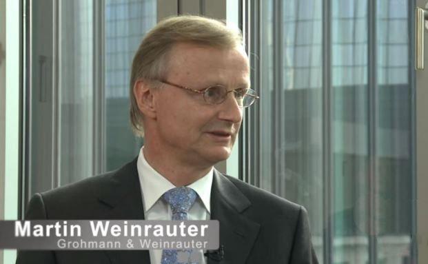 Martin Weinrauter von der Vermögensverwaltung Grohmann & Weinrauter