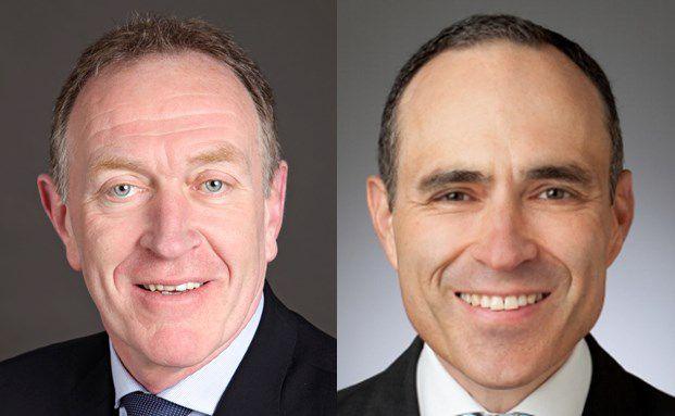 Michael H. Heinz (links) und Ingo Weber diksutieren über Vergleichsportale. Foto: BVK, Verivox