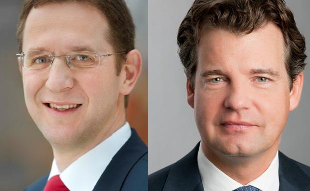 Claus Mischler (links) von Standart Life und Marc Tüngler vom DSW sind sich sicher, dass Fondsmanager so gut sind, dass keine Garantien mehr nötig sind.