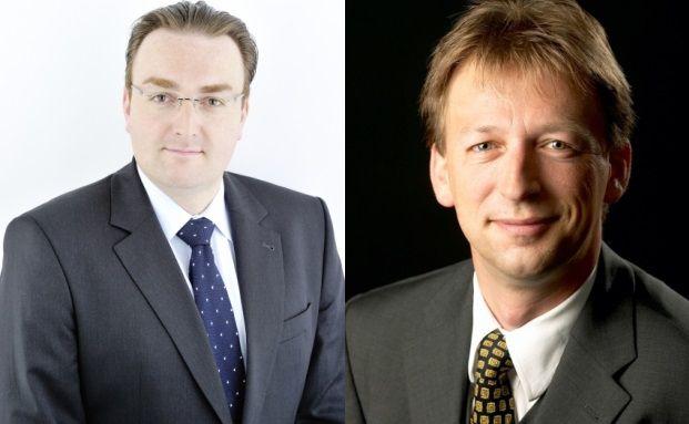 Daniel Wildhirt (l. Director) und Ullrich Hartmann (r.; Partner) von der Unternehmensberatung PwC
