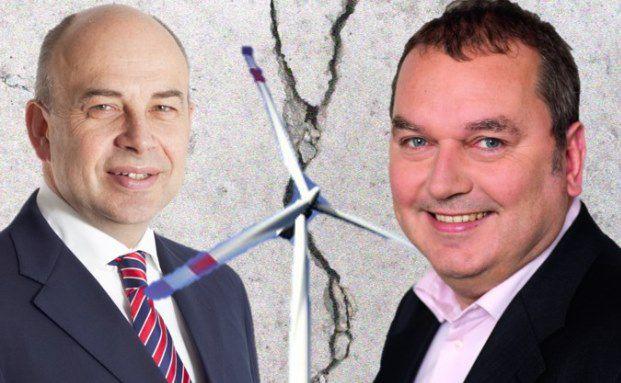 Oliver Brandt, Manager des Inprimo Aktien Spezial AMI (links), argumentiert gegen Markus Stillger, Manager des HAIG MB Max Value