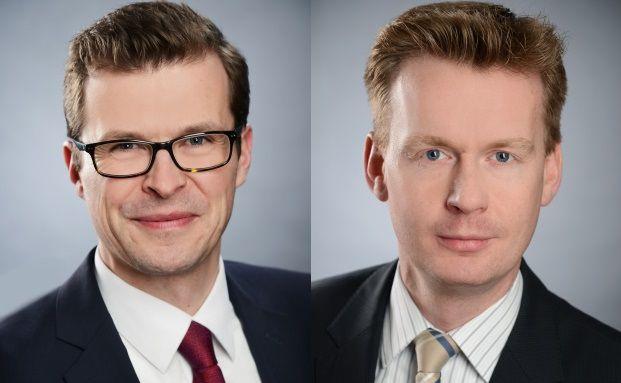 Das Beste aus 40.000 Zielfonds: Apo-Asset-Manager Matthias Schiestl (links) und Christian Hein