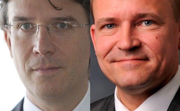 Treffen Vorbereitungen für Herbststürme und den kommenden Winter: Fondsmanager Frank Fischer und Ole Nielsen (rechts)