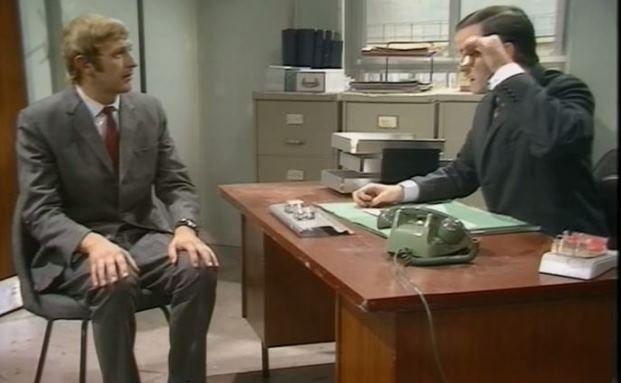 Absurdes Vorstellungsgespräch: Graham Chapman (links) und John Cleese