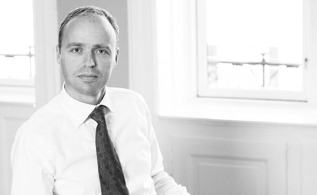 Sandro N&auml;f, einer von drei Managern des Nordea European <br> High Yield