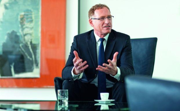 Holger Naumann, Sprecher der Geschäftsführung der Deutschen Asset Management in Deutschland