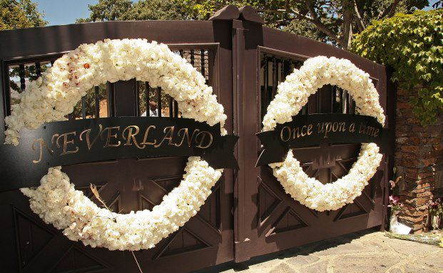 Toren von Michael Jacksons Neverland-Ranch. Foto: Getty Images