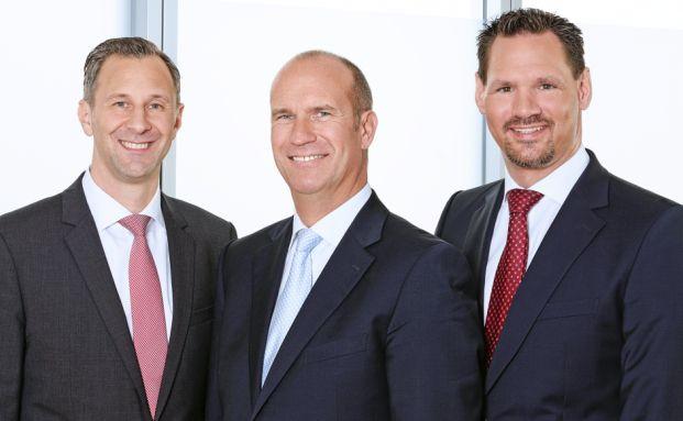 Andreas Scharpe, Gerd Bergner und Marc Schaub (v. l.)