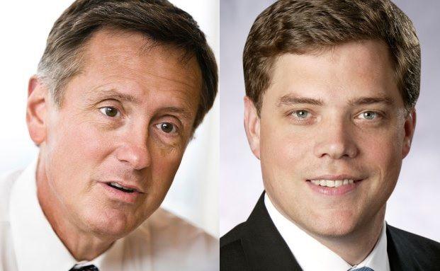 Richard Clarida (links), Global Strategic Advisor und Andrew Balls, CIO Global Fixed Income bei Pimco