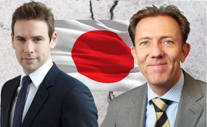 Jan Ehrhardt, Manager des Gamax Asia Pacific (links), argumentiert gegen Huub van der Riet, Manager des NN Global Equity Opportunities