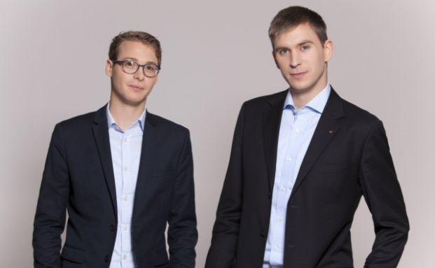 Nicolas Schmidlin (25) und Marc Profitlich (24, von links)
