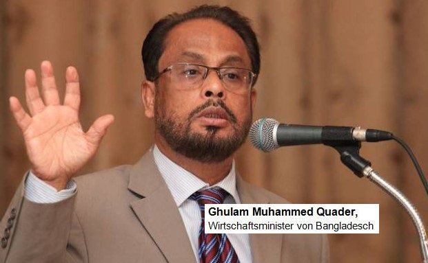 Ghulam Muhammed Quader, Quelle: BDnews24.com