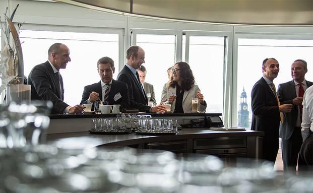 Auf dem private banking kongress 2015 in Hamburg. Foto: Christian Scholtysik / Patrick Hipp